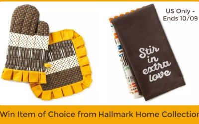 Hallmark Home Collection Giveaway ⚬ Ends Oct 9