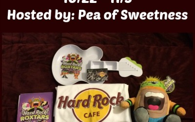 Hard Rock Cafe #giveaway! Enter to #win an awesome Roxstars prize pack! (Nov 5)