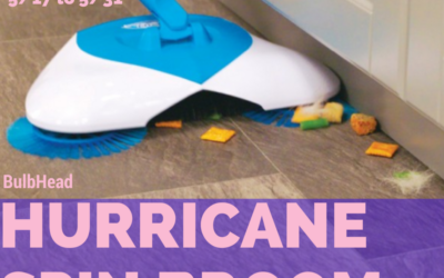 Hurricane Spin Broom Giveaway (Winner to be Announced)