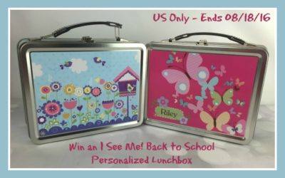 I See Me! Personalized Lunchbox Giveaway ⚬ Congrats Erin!