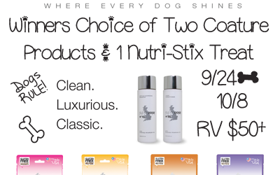 Isle of Dogs Coature & Nutri-Stix Giveaway ⚬ Ends Oct 8