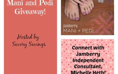 Don't miss this #giveaway! Enter to #win Jamberry Mani & Pedi supplies! (Aug 18 to Sep 1/ US)