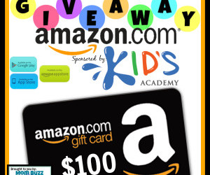 #SmartKidsWin with #MomBuzz! Discover a fun #educational app for #kids & enter to #win 1 of 2 $100 Amazon gift cards! (Jul 31 to Aug 31