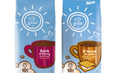 {Giveaway} Life is good. Coffee ~ 3 Bags Each for 2 Winners (Apr 23 to May 6/ US)