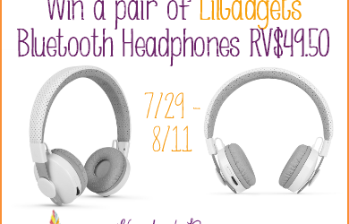 It's a LilGadgets kid's bluetooth headphones #giveaway! Enter to #win a pair valued at $49.95! (Jul 29 to Aug 11/ US)