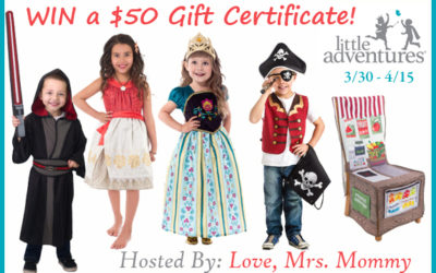 $50 Little Adventures Gift Certificate Giveaway (Winner to be Announced)
