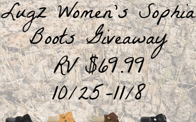 Lugz #giveaway! Enter to #win women's Sophia Boots in your color choice! (Ends Nov 8)