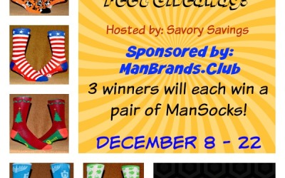 LAST CHANCE for the Suit Up Your Socks #giveaway! Enter to #win a pair of ManSocks! Three winners! (Ends Dec 22)