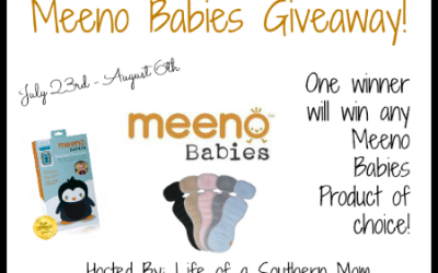 Did you get those entries in? Enter to #win a product of your choice in the Meeno Babies #giveaway! (Jul 23 to Aug 6/ US)