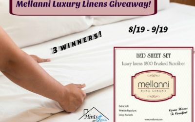 #Mellanni Luxury Linens Giveaway ⚬ Congrats Debbi, Cindy & D!