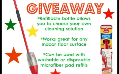Don't miss this #giveaway! Enter to #win an O'Cedar ProMist Microfiber Spray Mop! (Jul 20 to Aug 1/ US)