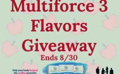Three Flavors of Multiforce Giveaway (Congrats, Cindy!)