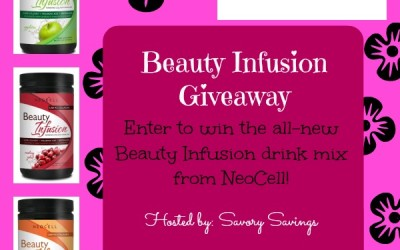 Don't miss this #giveaway! Enter to #win a Beauty Infusion Drink Mix from NeoCell! (Jul 17 to 31/ US)