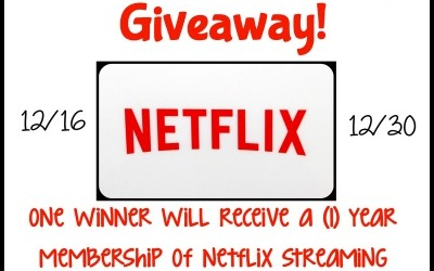 A #giveaway to bring the family together! Enter to #win a 1-yr membership to Netflix! (Ends Dec 30)