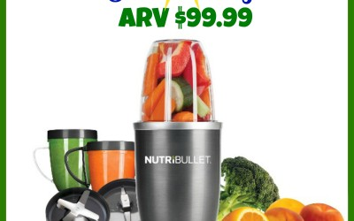 ENDING SOON! {Giveaway} Nutribullet valued at $99.99 (Apr 11 to 26/ US Only)