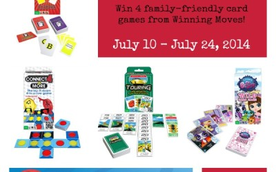 Don't miss this #giveaway! Enter to #win 4 card games from Winning Moves! (Jul 10 to 24/ US)