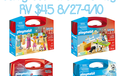Playmobil Carry Case Travel Package Giveaway ⚬ Ends Sep 10