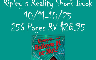 ENDING SOON! Ripley's Reality Shock #giveaway! Enter to #win the Ripley's Reality Shock book valued at $28.95! (Ends Oct 25)