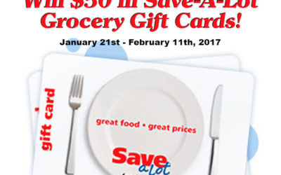 Enter to Win the Save-A-Lot $50 Big Game Grocery Gift Card Giveaway ⚬ Congrats Sherry!