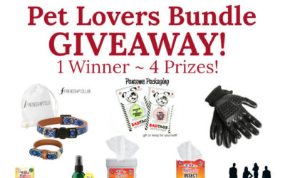 Pet Lovers Bundle Giveaway (Congrats, LeAnn!)