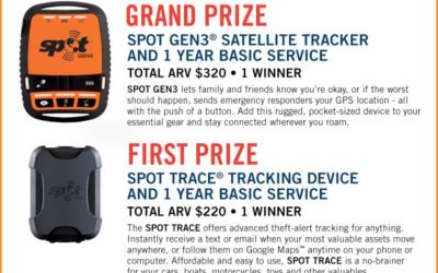 Track You and Your Stuff with SPOT Giveaway with 2 Winners ⚬ Congrats Erin & Michelle!