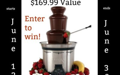 #Sephra Elite Home Fondue Fountain Giveaway (Winner to be Announced)