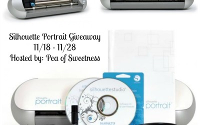 Silhouette Portrait #giveaway! #Crafters will love the chance to #win the Silhouette Portrait! (Ends Nov 28)