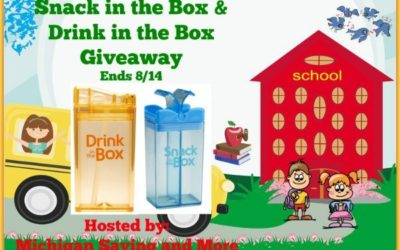 Back To School Snack in the Box & Drink in the Box Giveaway • Ends Aug 14