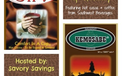 Warm up & enter the Southwest Beverages #giveaway to #win an assortment of cocoas & coffees! (Ends Dec 31)