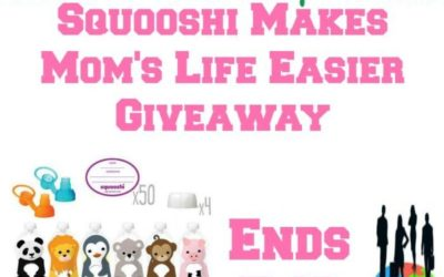 Squooshi Reusable Food Pouches Giveaway (Ends May 8/ US)