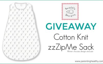 SwaddleDesigns Knit zzZipMe Sack Giveaway ⚬ Ends Sep 27