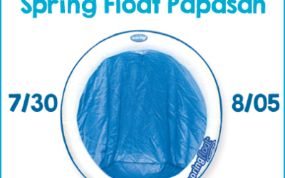 It's a Swimways #giveaway! Enter to #win a Spring Float Papasan! (Jul 30 to Aug 5/ US)