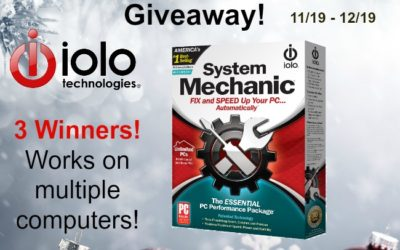 System Mechanic PC Performance Package Giveaway with 3 Winners #ioloSM ⚬ Congrats Sherri, R. & Lubka!