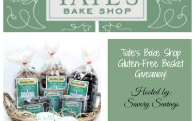 Tate's Bake Shop #giveaway! Enter to #win a basket full of gluten-free goodies! (Ends Dec 3)