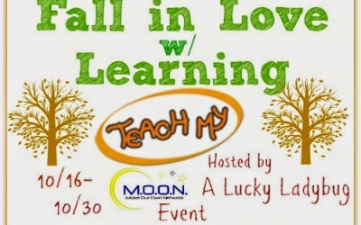 LAST CHANCE! Fall in Love With Learning #giveaway! Enter to #win 3 Teach My Learning Kits! (Ends Oct 30)