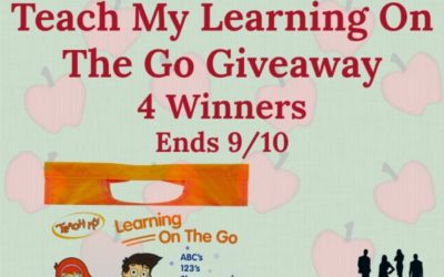Teach My Learning On The Go Giveaway (Ends September 10/ US)
