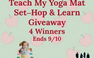 Teach My Yoga Mat Set Hop & Learn Giveaway (Ends September 10/ US)