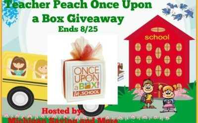 Back To School Teacher Peach Once Upon a Box Giveaway • Ends Aug 25