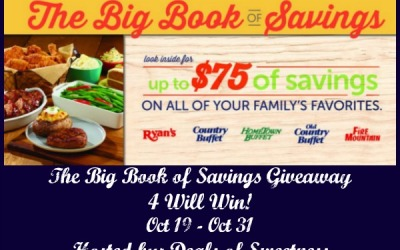LAST CHANCE! Big Book of Savings #giveaway! FOUR readers will each #win The Big Book of Savings! (Ends Oct 31)