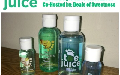 This Toe Juice #giveaway is ENDING SOON! Enter to #win skin relief with the Toe Juice Combo Pack! (Ends Dec 24)