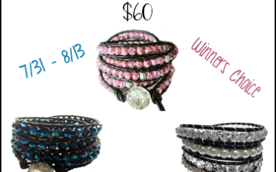 It's a Willamy Collection #giveaway! Enter to #win a Leather Wrap bracelet valued at up to $60! (Jul 31 to Aug 13/ US)