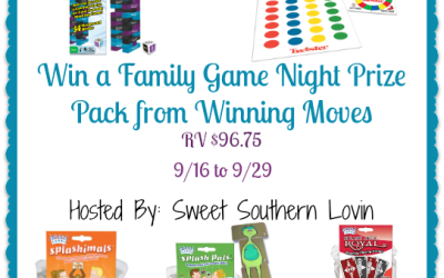 Winning Moves Family Game Night #giveaway! Enter to #win a game prize pack valued at $96.75! (Ends Sep. 29)