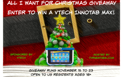 {Giveaway} All I Want for Christmas is a VTech InnoTab® Max ♥ Congrats, Jennifer! Ends November 23rd. Open to US residents ages 18+ only. $99.99 value.