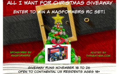 {Giveaway} All I Want for Christmas is a Magformers RC Set ♥ Congrats, Alyssa! Ends November 26th. Open to Continental US residents ages 18+ only. $124.99 value.