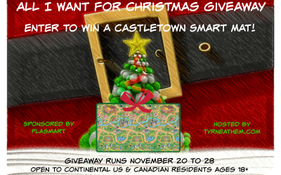 {Giveaway} All I Want for Christmas is a Castletown Smart Mat from PlaSmart ♥ Did you win? Ends November 28th. Open to Continental US & Canadian residents ages 18+ only. $29.99 value.