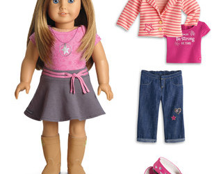 There's an American Girl Sale happening today at zulily! Save up to 30%!