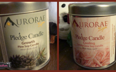 {Review} Aurorae Aromatherapy Candles