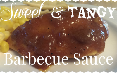 {Recipe} Sweet & Tangy Barbecue Sauce