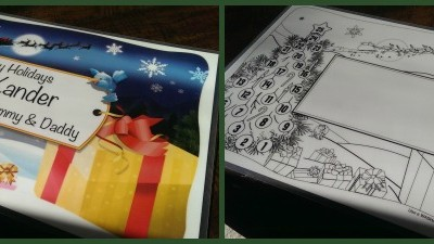 {Review} Birthday Keepsakes Personalized Holiday Placemat & Letter from Santa
