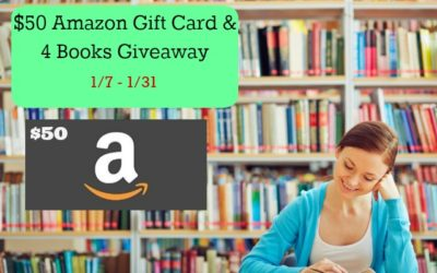 Enter to Win the $50 Amazon Gift Card and #4Books Giveaway ⚬ Ends January 31